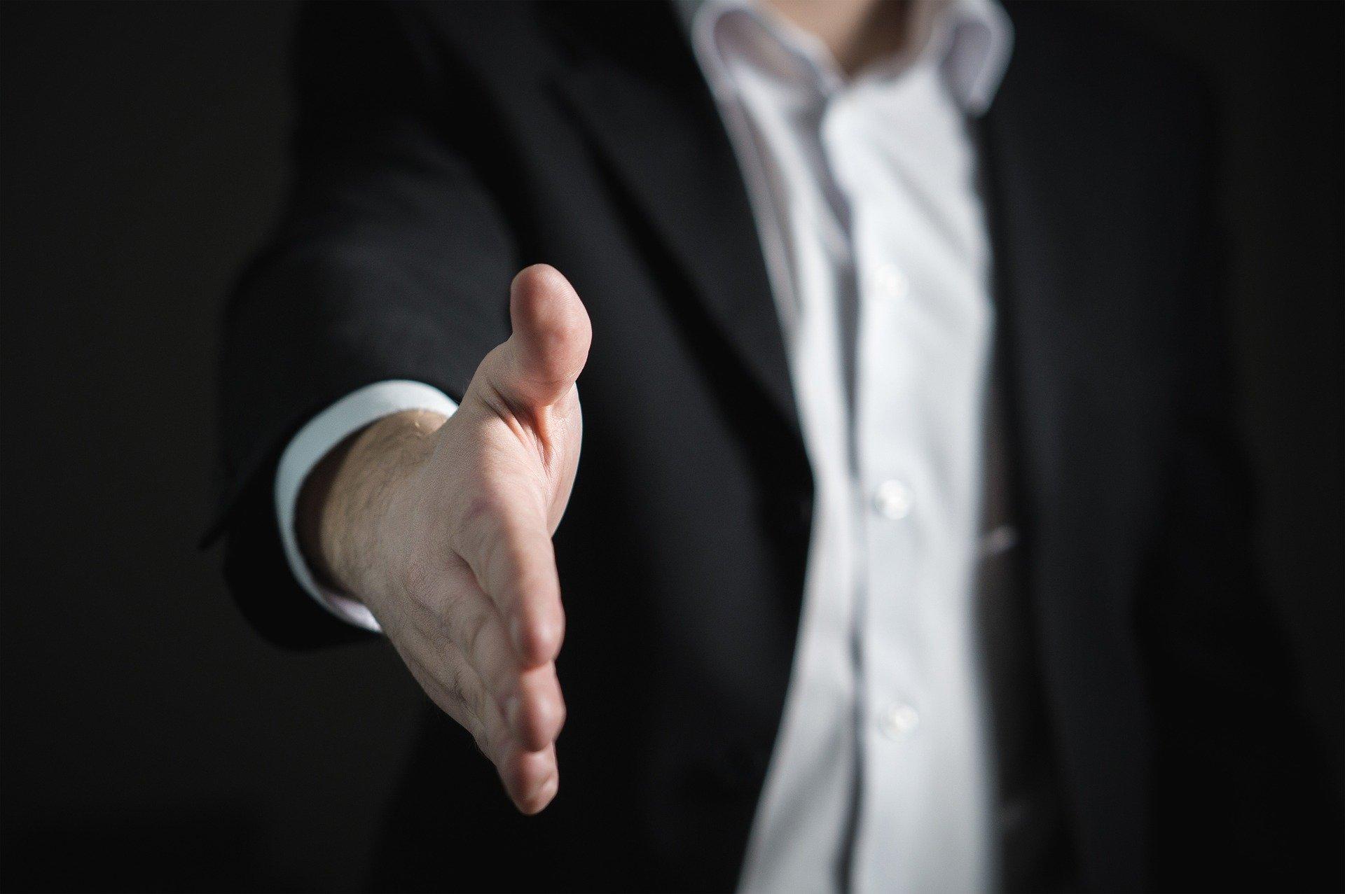 hand shake loan